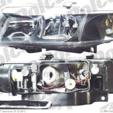 lampa przednia, reflektor �wiate� przednich SEAT LEON (1M1), 11.1999 - 05.2005 (VALEO)
