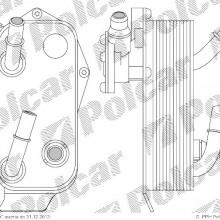 Ch�odnica oleju BMW 3 E90/E91 05- ( - )
