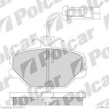 Klocki hamulcowe (4szt. komplet) POLONEZ POLONEZ III sedan, 09.1992- (DELPHI)