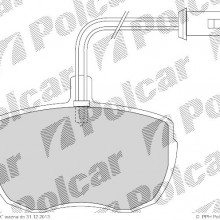 Klocki hamulcowe (4szt. komplet) ROVER 2000 - 3500 hatchback (SD1), 06.1976 - 10.1986 (Fomar)