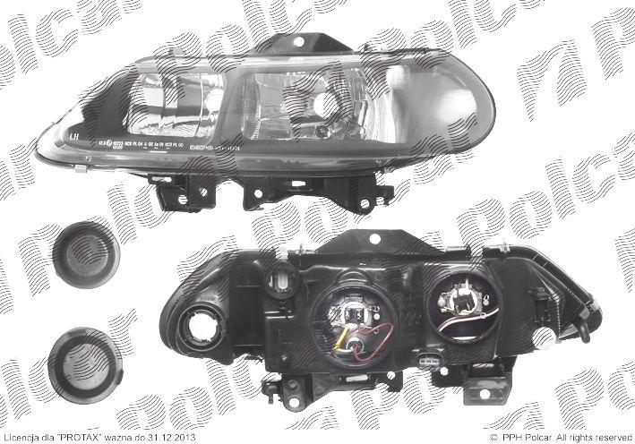 Lampa Przednia Reflektor świateł Przednich Renault Laguna I