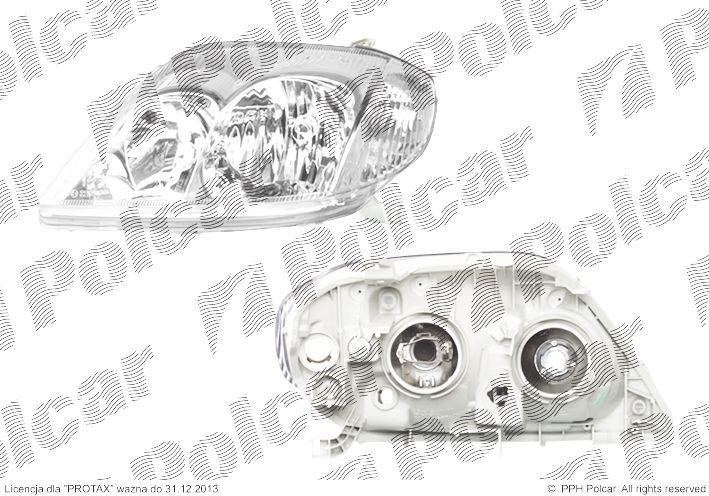 Lampa Przednia Reflektor świateł Przednich Toyota Corolla