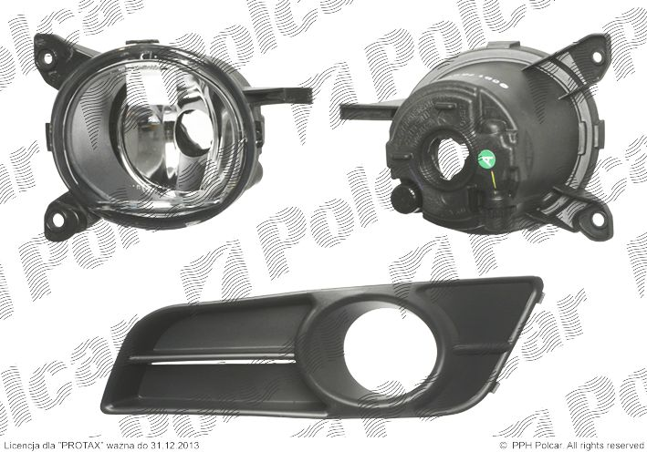 Halogen Lampa Przeciw Mgielna Przednia Toyota Corolla E12
